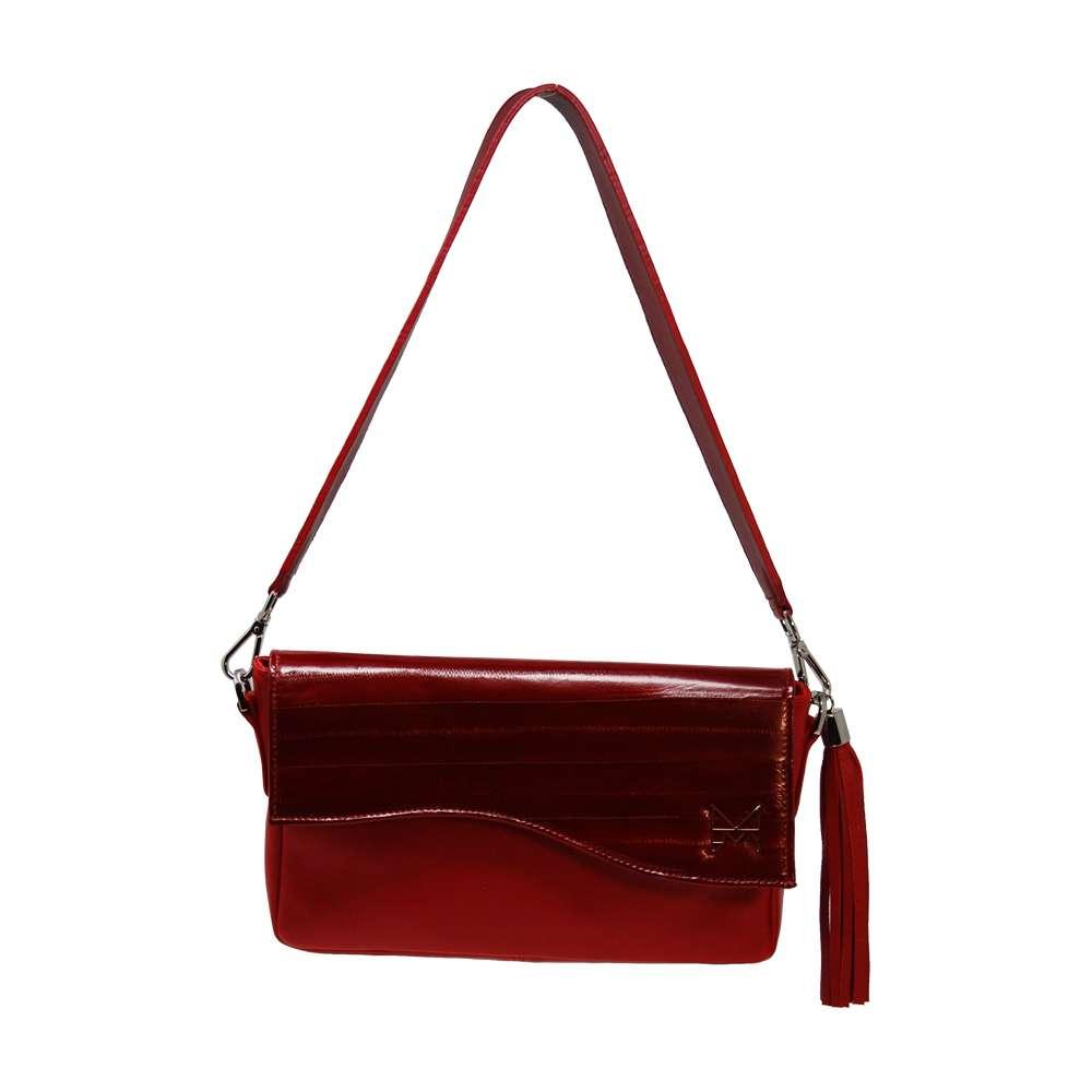 New Beth in pelle rossa borse trasformabili